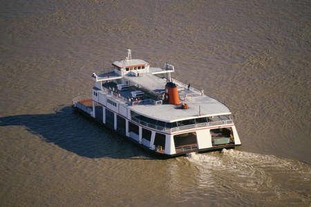 Ferry in water