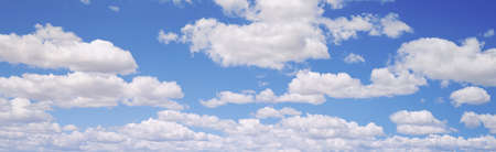 Clouds in Sky Panoramic