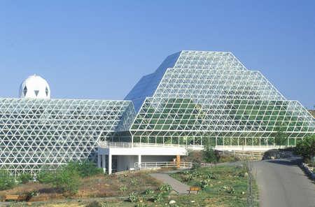 Biosphere 2 human habitat at Oracle in Tucson, AZ