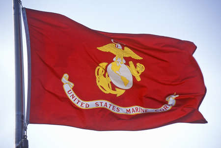 Flag for US Marine Corps