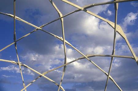 ÒWindstar Biodome Research ProjectÓ geodesic dome, Aspen, Colorado