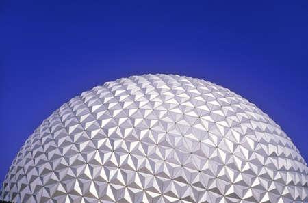The Epcot Center landmark, Spaceship Earth in Future World, Disney's Epcot Center, Buena Vista, Florida