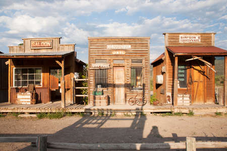 Old West storefronts, Ridgway, Colorado
