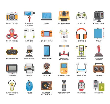 Illustration for Gadget, Thin Line and Pixel Perfect Icons - Royalty Free Image