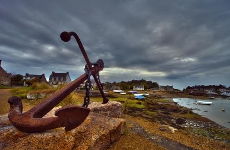 anchor near Perros Guirec, France