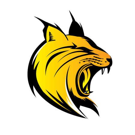 Lynx Head: Royalty-free vector graphics