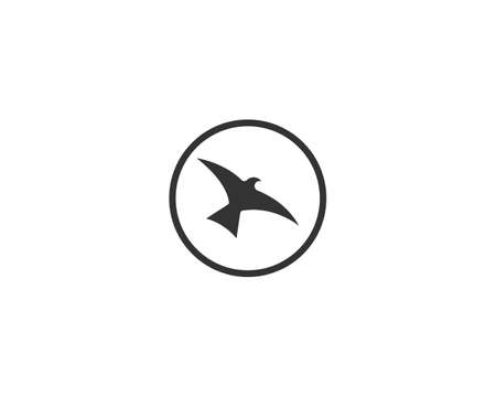 Bird icon Template vector illustration