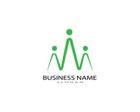 Photo pour Adoption and community care Logo template vector icon - image libre de droit