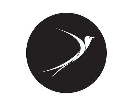 Bird  Template vector illustration