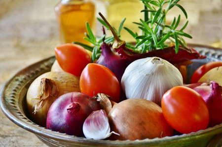 Photo pour A image of tasty vegetable on the table. - image libre de droit