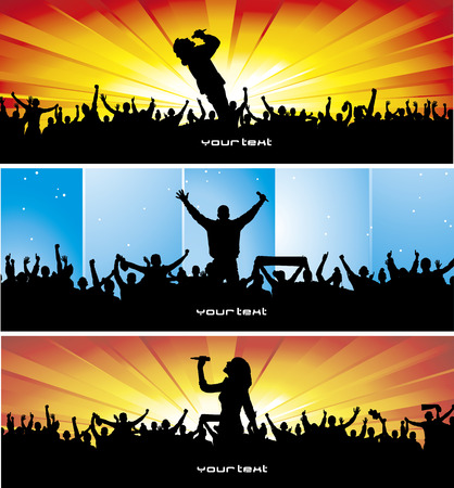 Set poster for music concert