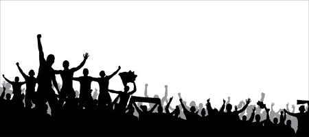 Ilustración de Poster for sports championships and music concerts - Imagen libre de derechos