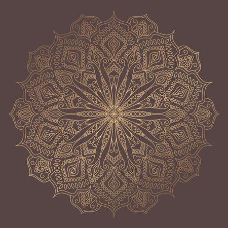 Illustration pour Mandala Vector Design Element - image libre de droit