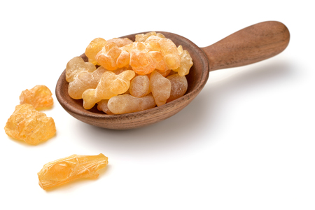 Photo pour Pure Organic Frankincense Resin isolated on the white background - image libre de droit