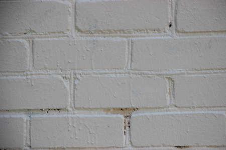 Photo pour Light gray grunge brick wall background texture. - image libre de droit
