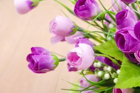 Flower on floor