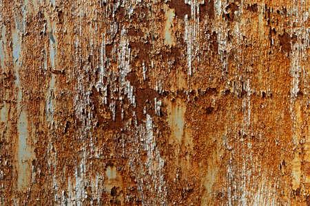 Photo pour Old galvanized wall  weathered  paint abrasive. - image libre de droit