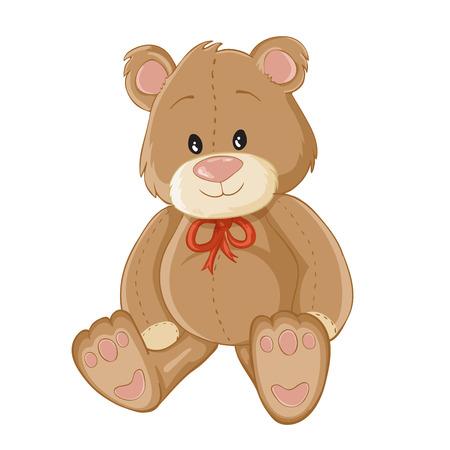 Illustration pour Illustration of Teddy bear - image libre de droit