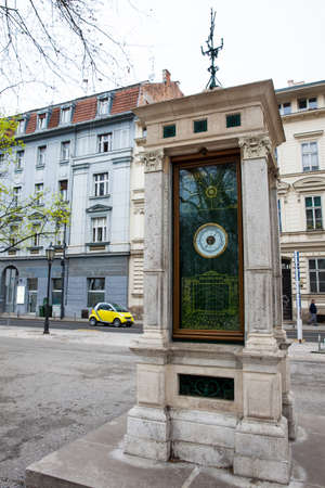 Historical Meteorological Pole located at Zrinjevac park in Zagreb have been recording weather conditions since 1884