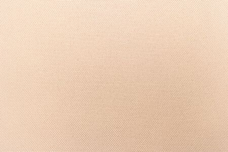 Photo pour Cream abstract Hessian or sackcloth fabric or hemp sack texture background. Wallpaper of artistic wale linen canvas. Blanket or Curtain of cotton pattern with space for text decoration. Seamless cream - image libre de droit