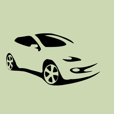 Illustration for car icon automobile vector illustration - Royalty Free Image