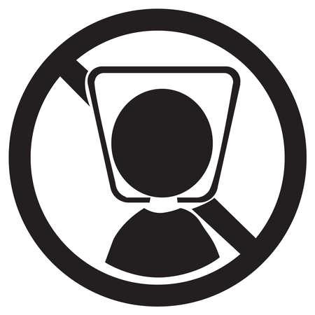 Illustration pour Little man  icon on a background - image libre de droit