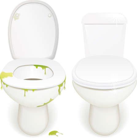 Illustration pour toilets - image libre de droit