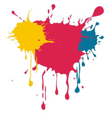 Illustration pour colors in vector  - image libre de droit
