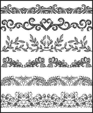 Illustration for Decorative Elements - Royalty Free Image