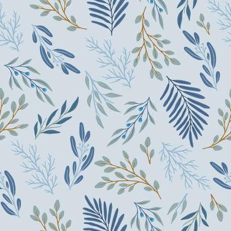 Illustration pour Abstract floral seamless pattern. Vector design for paper, cover, fabric, interior decor. - image libre de droit