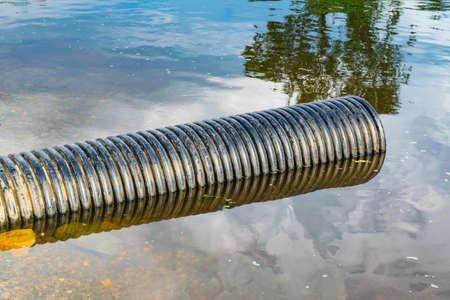 Storm sewage plastic pipe of large diameter
