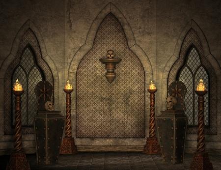 gothic scenery