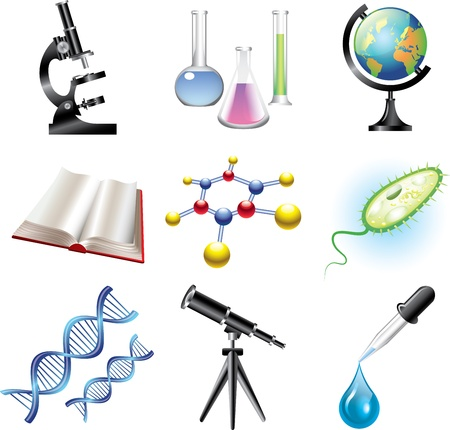 science and �hemistry vector set