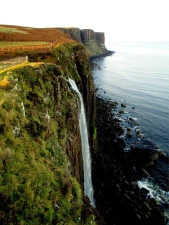 Waterfall of Kilt Rock, Scotland
