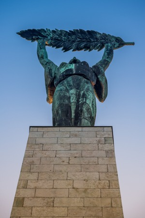 Statue of liberty in Budapest, Hungary