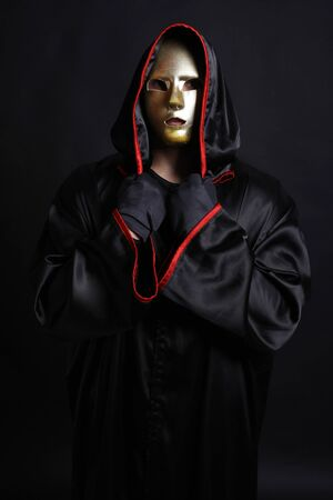 monk mystical mask