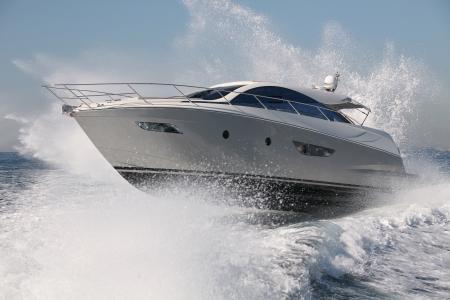 motor boat, yacht jump