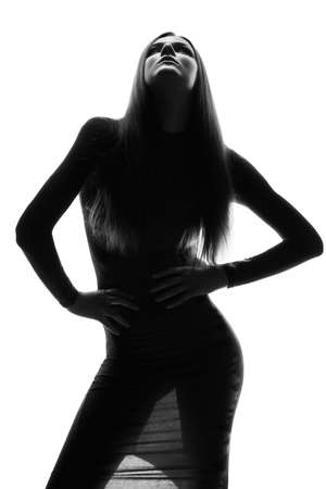 Photo for High fashion look. Glamor portrait of beautiful sexy stylish Caucasian young woman model - Royalty Free Image