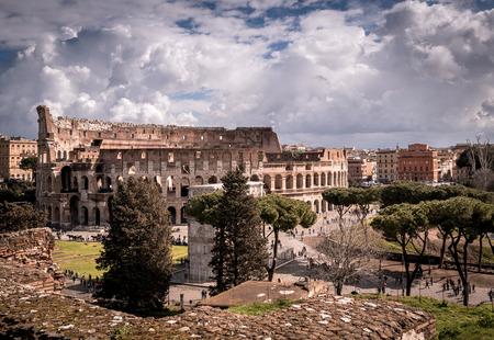 Foto de View of Colosseum - Imagen libre de derechos