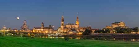 Dresden overlooking the old town
