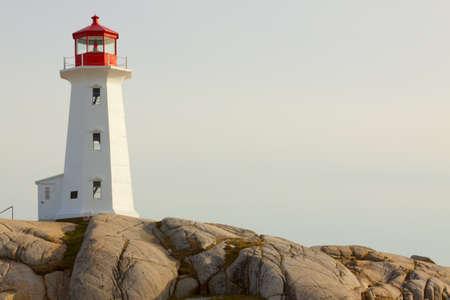 Peggy's Cove Lighthouse. Nova Scotia