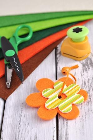Springtime crafting supplies