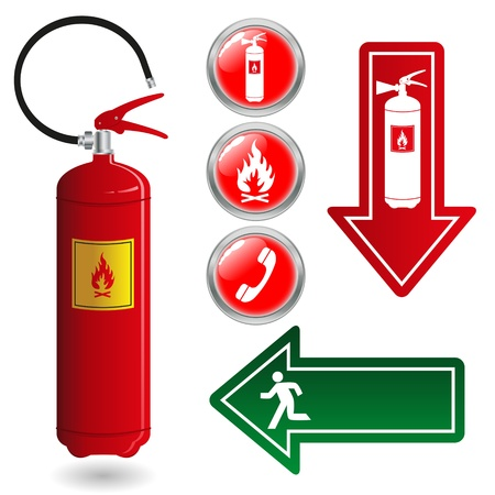 Fire Extinguisher Signs