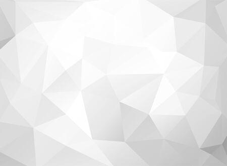 Ilustración de Gray White Polygonal Background, Creative Design Templates - Imagen libre de derechos