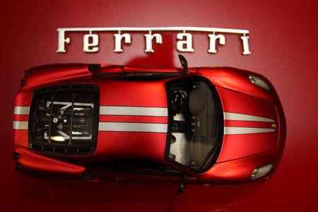 Ferrari F430 diecast car and sport car