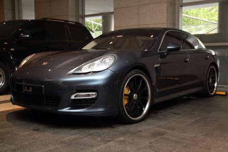 Porsche Cayenne sport car