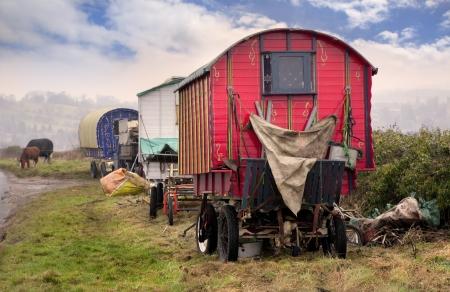 Gypsy Vardo, Cotswolds, England
