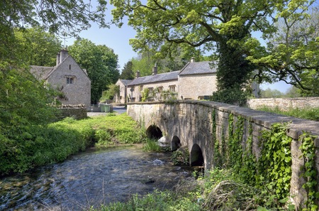 Upper Swell, a Cotswold village near Stow on the Wold, Gloucestershire, England