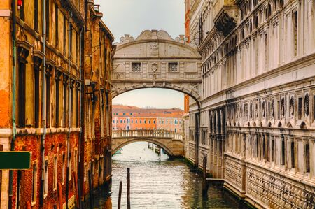 Bridge of Sighs in Venice, I