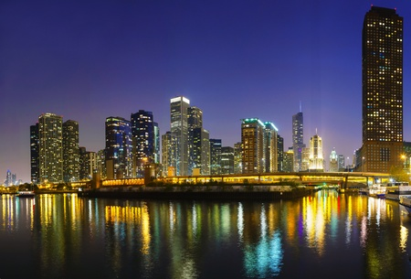 Downtown Chicago, IL at the